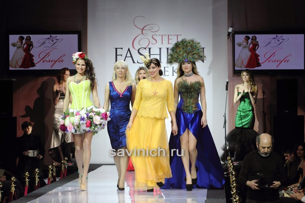 #Ирина_Степанова на #Estet_Fashion_Week:_весна_2016
