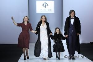 Крымская меховая фабрика Duetfur на Московской неделе моды 2019
