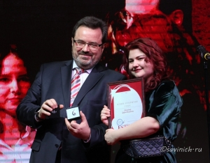 Дарья Федунова на вечере, посвященном 10-летию журнала Estet